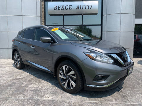 2018 Nissan Murano for sale at Berge Auto in Orem UT