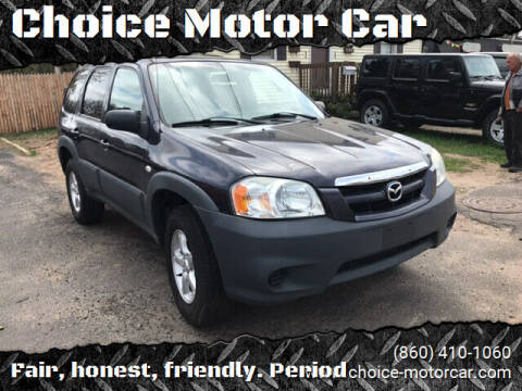 2005 Mazda Tribute for sale at Choice Motor Car in Plainville CT