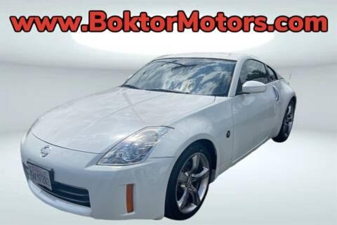 2006 Nissan 350Z for sale at Boktor Motors in North Hollywood CA