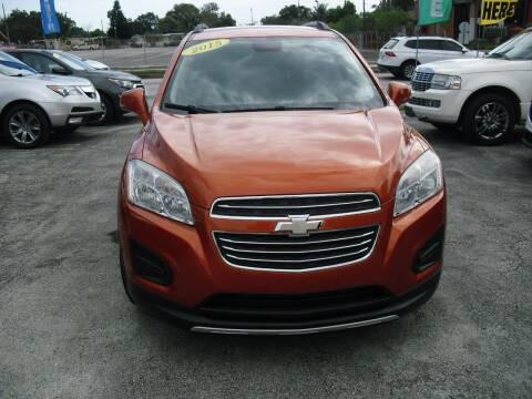 2015 Chevrolet Trax for sale at SUPERAUTO AUTO SALES INC in Hialeah FL