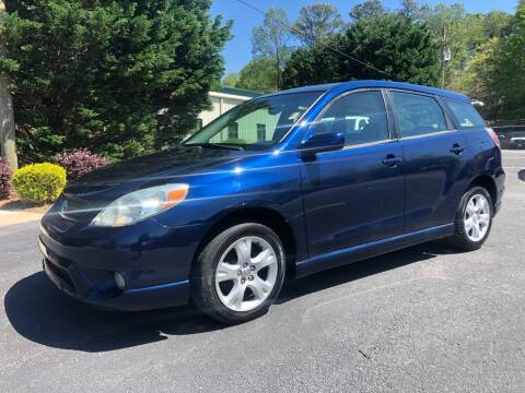 2006 Toyota Matrix for sale at GTO United Auto Sales LLC in Lawrenceville GA