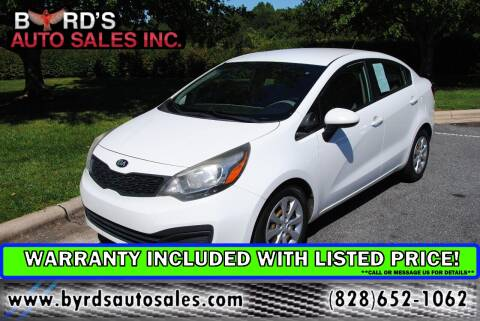 2015 Kia Rio for sale at Byrds Auto Sales in Marion NC