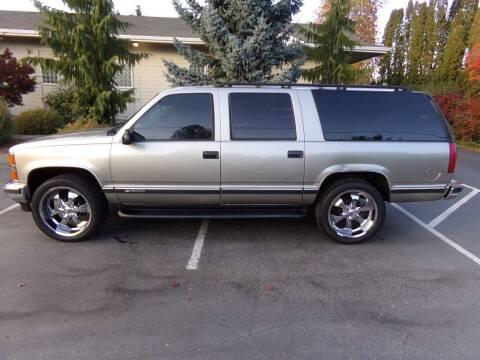 1999 Chevrolet Suburban for sale at Signature Auto Sales in Bremerton WA