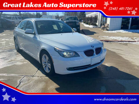 2010 BMW 5 Series for sale at Great Lakes Auto Superstore in Pontiac MI