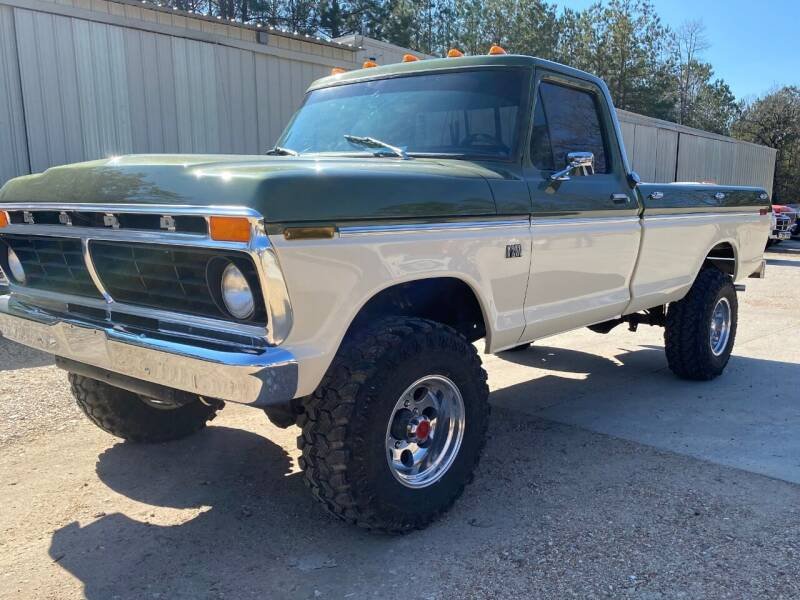 1976 Ford F-250 for sale at VAP Auto Sales llc in Franklinton LA