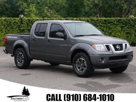 2016 Nissan Frontier for sale at PHIL SMITH AUTOMOTIVE GROUP - Pinehurst Nissan Kia in Southern Pines NC