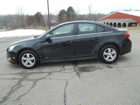 2013 Chevrolet Cruze for sale at Rt. 44 Auto Sales in Chardon OH
