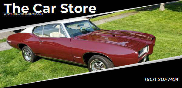 1968 Pontiac GTO for sale at The Car Store in Milford MA