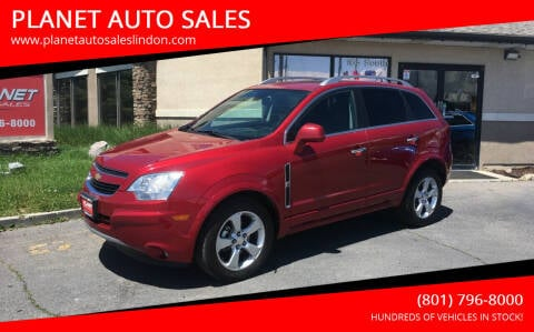 2014 Chevrolet Captiva Sport for sale at PLANET AUTO SALES in Lindon UT