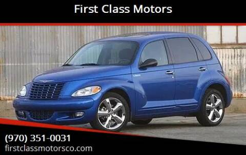 2005 Chrysler PT Cruiser for sale at First Class Motors in Greeley CO