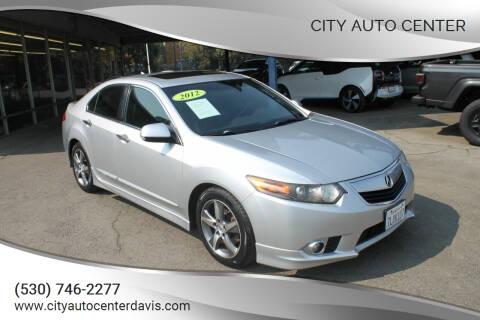 2012 Acura TSX for sale at City Auto Center in Davis CA