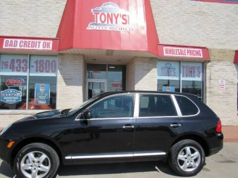 2005 Porsche Cayenne for sale at Tony's Auto World in Cleveland OH