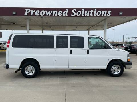 2013 Chevrolet Express Passenger for sale at Preowned Solutions in Urbandale IA
