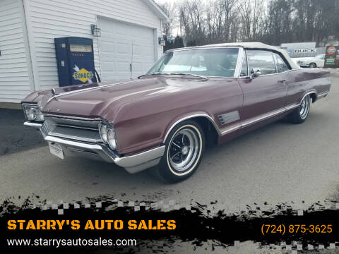1966 Buick Wildcat for sale at STARRY'S AUTO SALES in New Alexandria PA