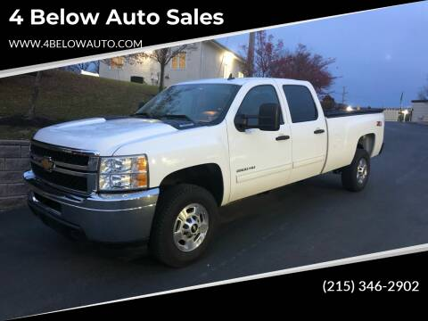 2012 Chevrolet Silverado 2500HD for sale at 4 Below Auto Sales in Willow Grove PA