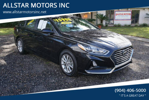 2018 Hyundai Sonata for sale at ALLSTAR MOTORS INC in Middleburg FL