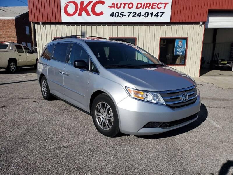 2012 Honda Odyssey for sale at OKC Auto Direct, LLC in Oklahoma City OK
