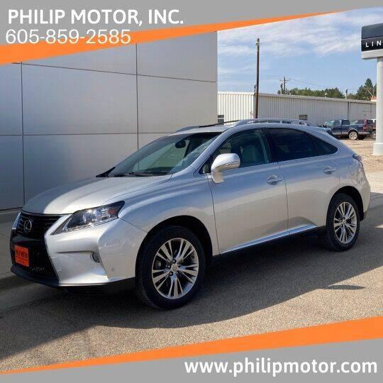 2014 Lexus RX 350 for sale at Philip Motor Inc in Philip SD
