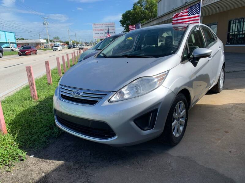 2012 Ford Fiesta for sale at Eastside Auto Brokers LLC in Fort Myers FL