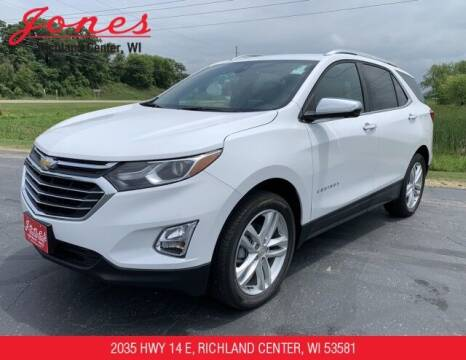 2021 Chevrolet Equinox for sale at Jones Chevrolet Buick Cadillac in Richland Center WI