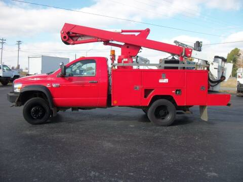 2010 Dodge 4x4 W5500 Bucket Truck for sale at Classics Truck and Equipment Sales in Cadiz KY