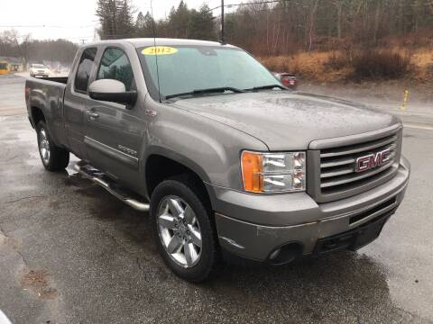 2012 GMC Sierra 1500 for sale at Oxford Auto Sales in North Oxford MA
