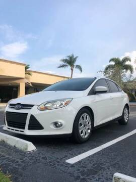 2012 Ford Focus for sale at GERMANY TECH in Boca Raton FL