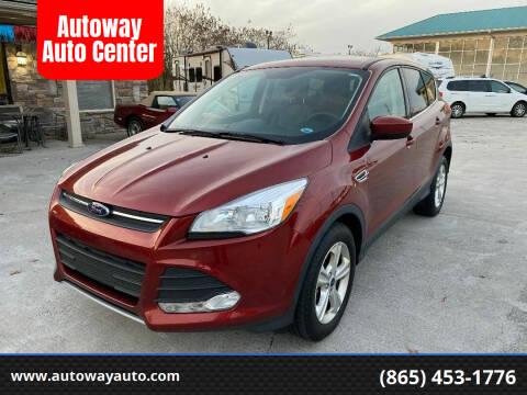 2016 Ford Escape for sale at Autoway Auto Center in Sevierville TN