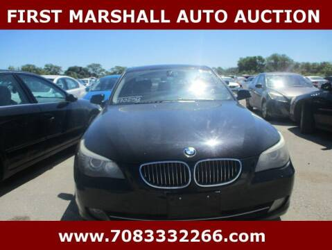 2010 BMW 5 Series for sale at First Marshall Auto Auction in Harvey IL