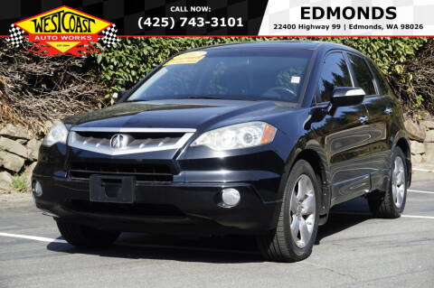 2007 Acura RDX for sale at West Coast Auto Works in Edmonds WA