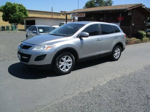 2011 Mazda CX-9 for sale at Manzanita Car Sales in Gridley CA