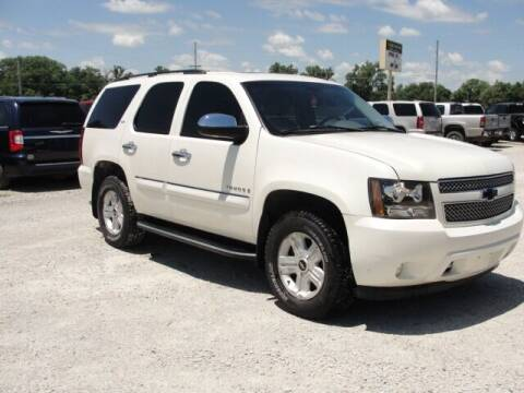 2008 Chevrolet Tahoe for sale at Frieling Auto Sales in Manhattan KS
