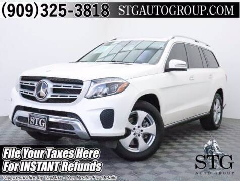 2017 Mercedes-Benz GLS for sale at STG Auto Group in Montclair CA