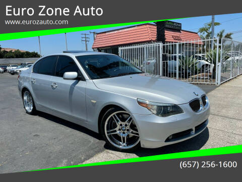 2004 BMW 5 Series for sale at Euro Zone Auto in Stanton CA