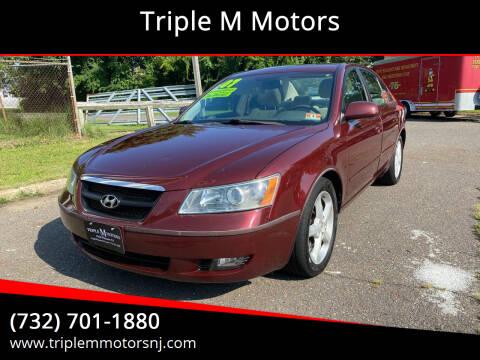 2007 Hyundai Sonata for sale at Triple M Motors in Point Pleasant NJ