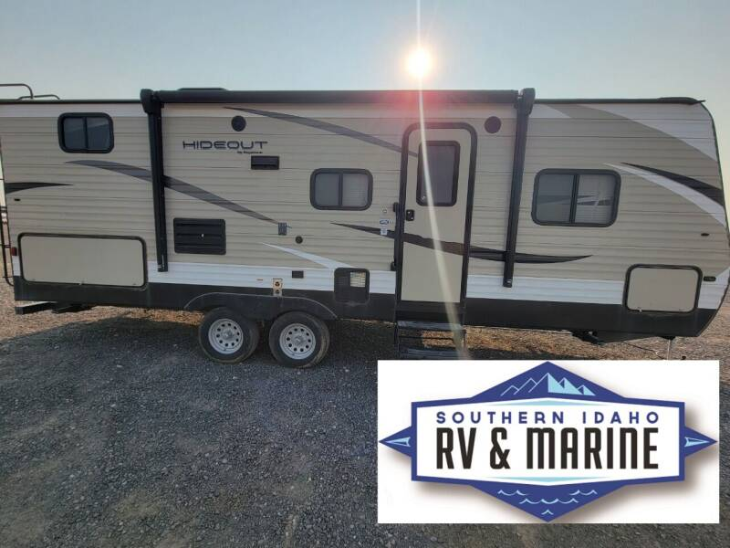2018 KEYSTONE HIDEOUT 24BHSWE for sale at SOUTHERN IDAHO RV AND MARINE - Used Trailers in Jerome ID