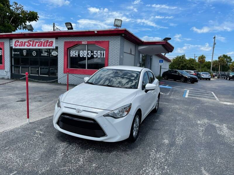 2017 Toyota Yaris iA for sale at CARSTRADA in Hollywood FL