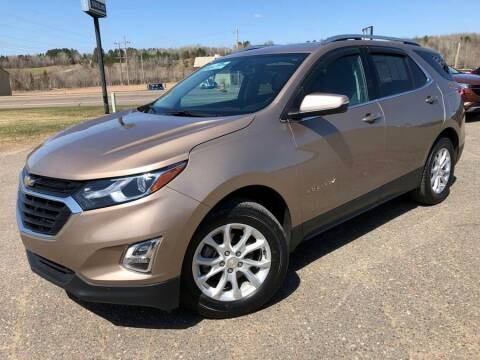 2018 Chevrolet Equinox for sale at STATELINE CHEVROLET BUICK GMC in Iron River MI