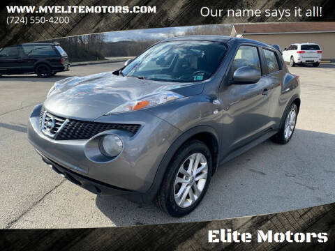 2011 Nissan JUKE for sale at Elite Motors in Uniontown PA