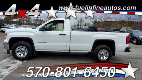 2014 GMC Sierra 1500 for sale at FUELIN FINE AUTO SALES INC in Saylorsburg PA