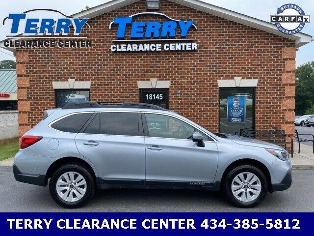 2018 Subaru Outback for sale at Terry Clearance Center in Lynchburg VA