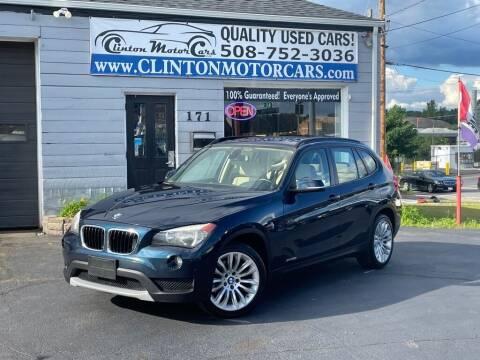 2014 BMW X1 for sale at Clinton MotorCars in Shrewsbury MA