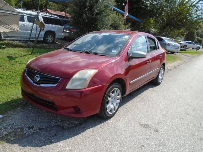 2010 Nissan Sentra for sale at SCOTT HARRISON MOTOR CO in Houston TX