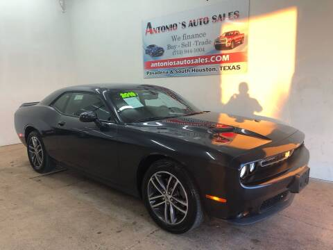 2019 Dodge Challenger for sale at Antonio's Auto Sales in South Houston TX