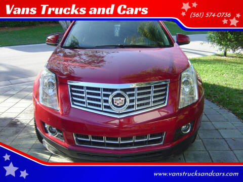 2015 Cadillac SRX for sale at Car Girl 101 in Oakland Park FL