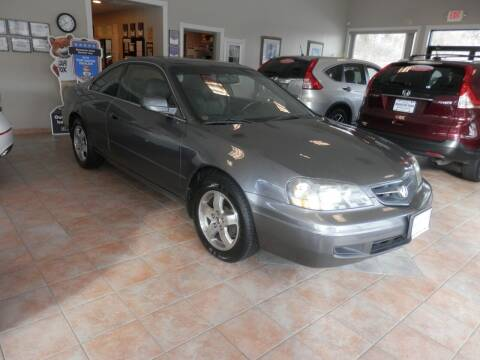 2003 Acura CL for sale at ABSOLUTE AUTO CENTER in Berlin CT