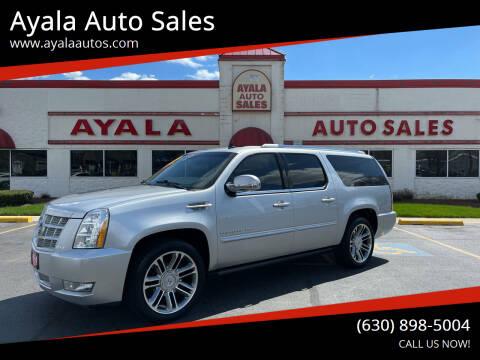 2013 Cadillac Escalade ESV for sale at Ayala Auto Sales in Aurora IL