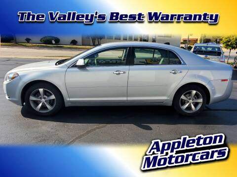 2012 Chevrolet Malibu for sale at Appleton Motorcars Sales & Service in Appleton WI