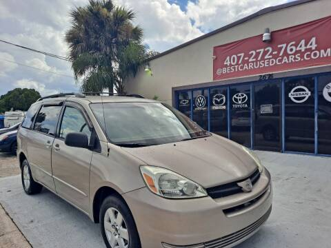2005 Toyota Sienna for sale at BestCar in Kissimmee FL