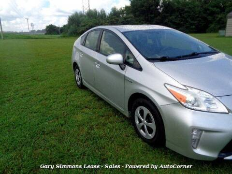 2014 Toyota Prius for sale at Gary Simmons Lease - Sales in Mckenzie TN